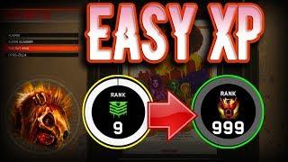 *EASY* Quick XP Farming God Mode Glitch - Shaolin Shuffle BOSS BATTLE MODE - IW Zombies