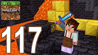 Minecraft: Pocket Edition - Gameplay Walkthrough Part 117 - Nether Castle (iOS, Android)