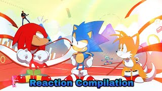Sonic Mania - Opening Animation - Reaction Compilation