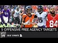 5 Free Agents The Raiders Could Still Sign In NFL Free Agency, Not Including Richie Incognito