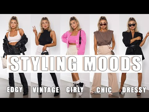 MY FAVORITE WAYS TO STYLE | EDGY, CHIC, GIRLY, MORE - YouTube