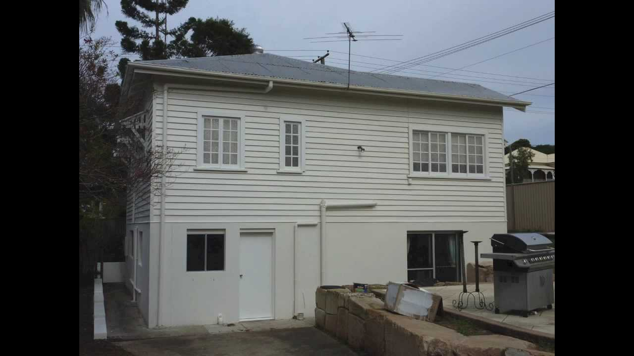 Before after weatherboard house brisbane youtube for Houses images pictures