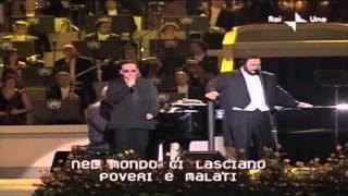 Bono and Pavarotti