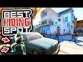 SECRET HIDING SPOT ON NEW DUST 2 (CS GO Funny Moments)