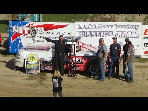 Pro Truck Feature at Great Lakes Nationals, Crystal Motor Speedway on 09-18-16