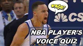 NBA PLAYER'S VOICE QUIZ - GUESS THAT NBA PLAYERS VOICE TRIVIA QUIZ 🎤🔊