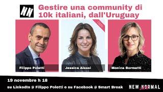 Gestire una community di 10.000 italiani, dall'Uruguay
