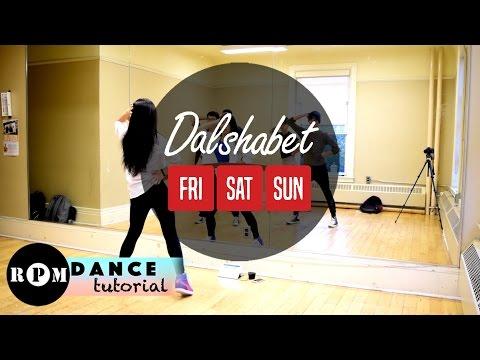 "Dalshabet ""FRI.SAT.SUN"" Dance Tutorial (Pre-Chorus, Chorus)"