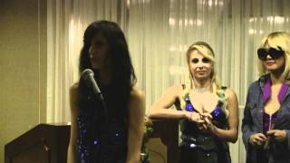 Ms. Elinor Cohen Answer Questions at Mr. and Ms. Perfect Creatures Pageant 2011
