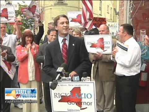 Rick Lazio Gets Heckled - Part 1 (8/25/2010)