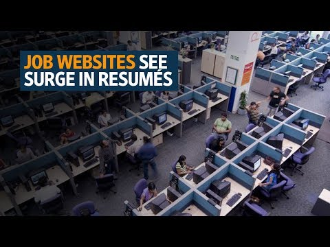Job websites see surge in resumés from software engineers amid layoff worries
