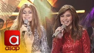 "ASAP: Sarah G and Pelita perform ""Dance Again"""