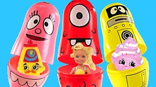 Surprise Nesting Eggs Yo Gabba Gabba! Chocolate Surprise Eggs Baby Shopkins