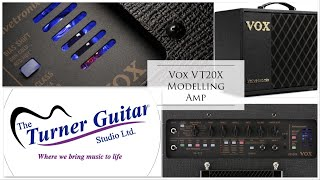 Vox VT20X Hybrid Tube Modeling Amplifier Demo