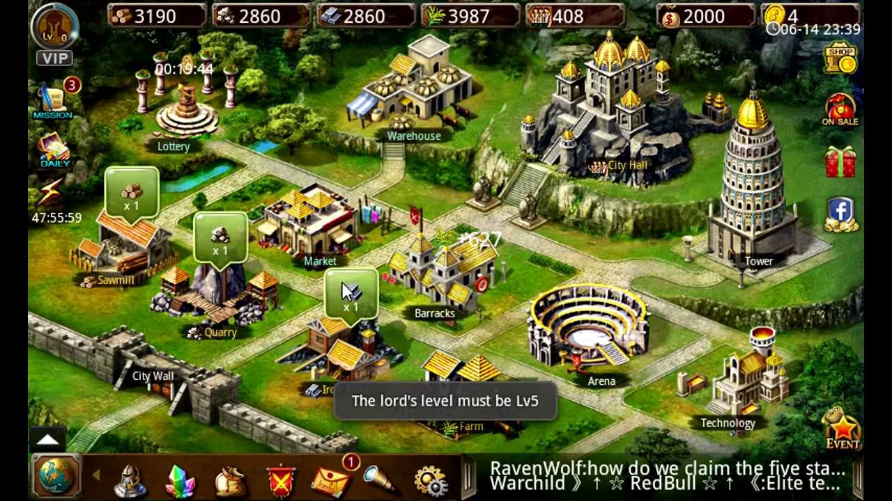 Games Like Age Of Empire For Android Age Of Warring