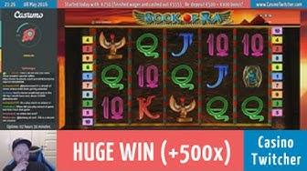 Book of Ra deluxe - HUGE WIN - Bet size: €1.00