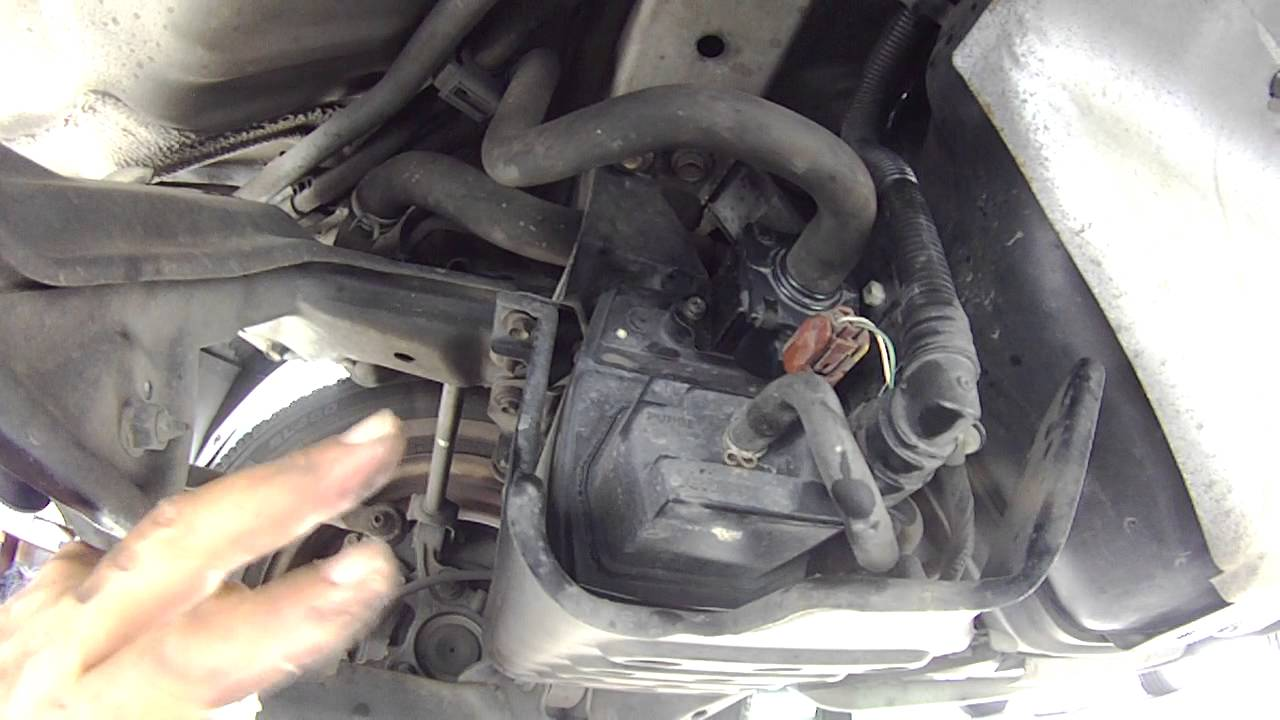 location of evap purge valve on a 2003 ford  location