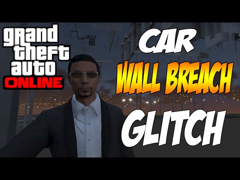 GTA 5 ONLINE GLITCH - Parking Garage Wallbreach - Under Map Glitch!
