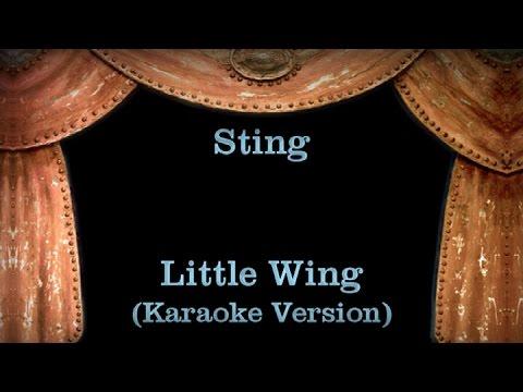 Sting - Little Wing - Lyrics (Karaoke Version)