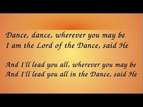 Lord of the Dance Hymn with Lyrics