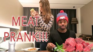 MEAT PRANK!!!! & RED LIGHT DISTRICT EXPOSED!