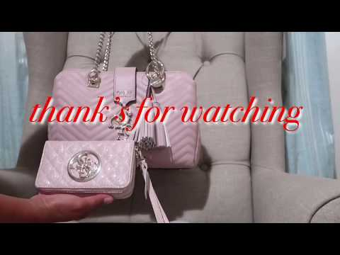 MY NEW BAG AND WALLET FROM GUESS | VLOGS