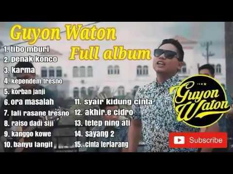 GUYON WATON FULL ALBUM [Terbaru] 2019