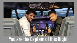 Be a captain... Fly the flight... ನೀವೇ ವಿಮಾನ ಹಾರಿಸಿ...