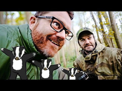 BADGERS! Apeman H80 Wildlife Night Vision Trail Camera Test & Review