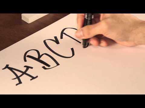 Cómo dibujar letras de graffiti : Tips de dibujo