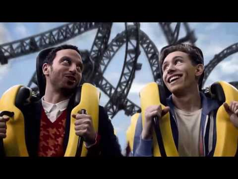 Alton Towers Adverts TV Ads, Year 2000-2017