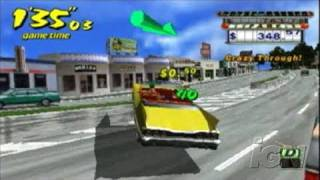 Crazy Taxi: Fare Wars Sony PSP Gameplay - The Drop