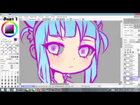 Daoko - G I R L SpeedPaint Part 1