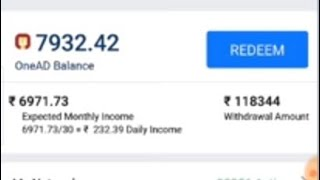 OneAD Topers | OneAD Earn 1laks Payment Proof | OneAD payment Proof | OneAD Tamil | OneAD