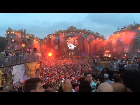 Tomorrowland 2014 many stages original sound. Pure impressions Saturday