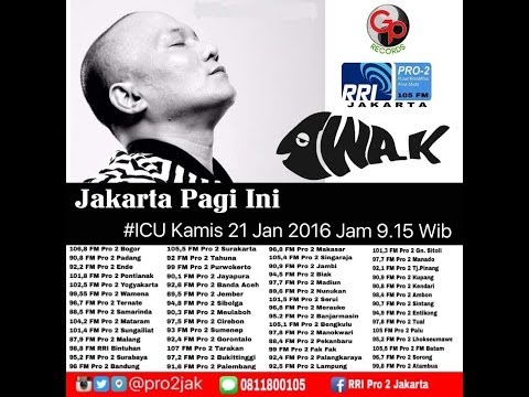 Iwa K (Live Video Corner RRI)