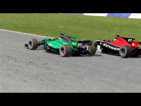 Automobilista: Wheel to wheel action from online race