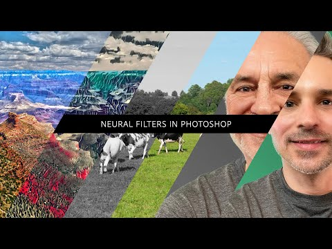 Neural Filters in Photoshop - #PHOMO