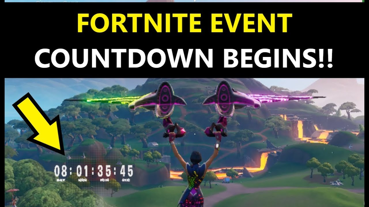 What time is the fortnite event (EXACT TIME of SEASON 10 ...