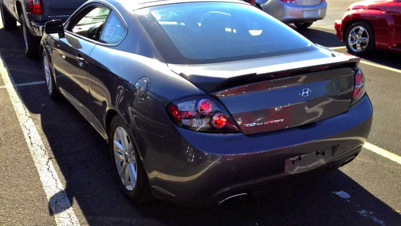Wonderful 2007 Hyundai Tiburon GS 2.0L Start Up, Quick Tour, U0026 Rev With Exhaust View    82K   YouTube