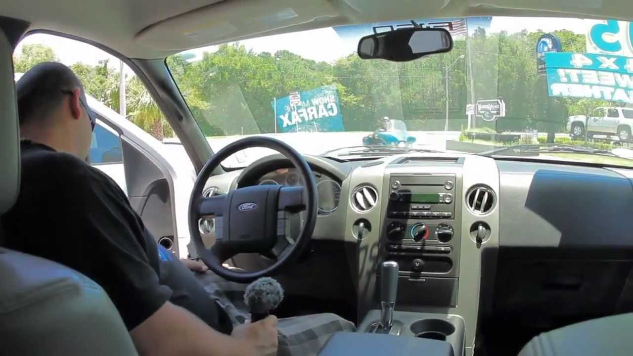 Autolines 2005 Ford F 150 FX4 Walk Around Review Test