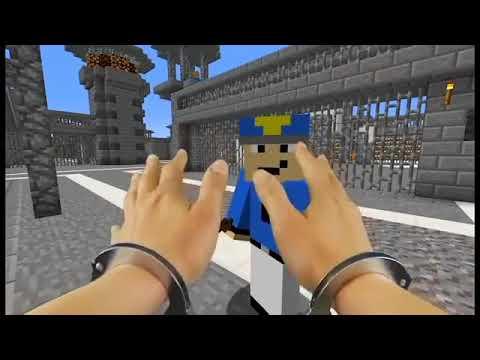 Minecraft Gerçek Hayat Hapisaneden Kaçış! |Gerçek Hayatta Minecraft|