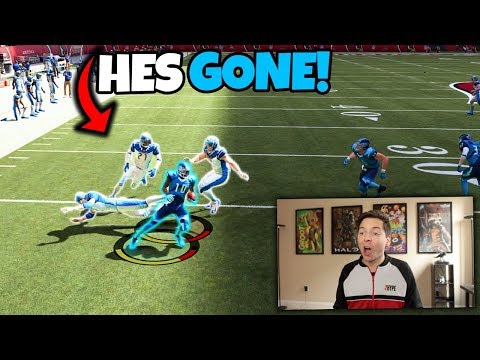 He BROKE 4 PLAYERS on this 100 Yard Touchdown!!  Madden 19 No Money Spent #4