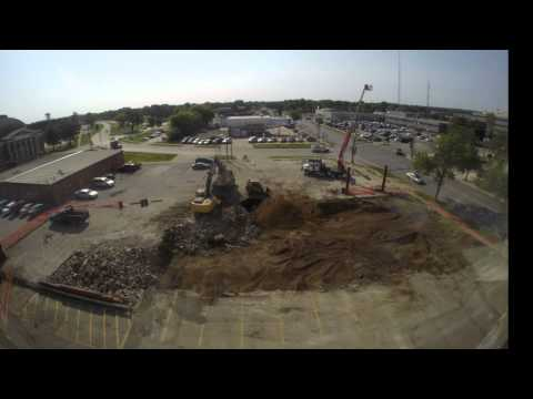 KWWL Renovation: The Legion Demolition and Clean Up