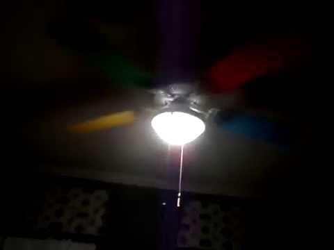 Rainbow Ceiling Fan Youtube