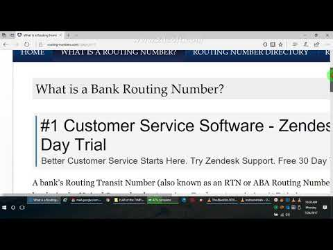 Social Security Administration ABA Routing Number  2017 07 24