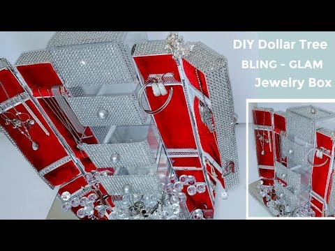 DIY Dollar Tree BLING Jewelry Box