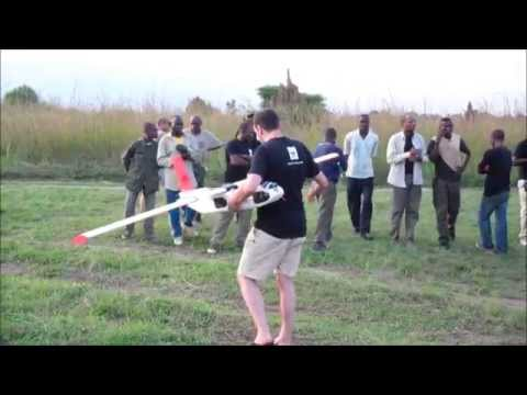 ResearchDrones: Odzala Congo, training and test flights