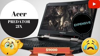 Acer's Predator 21x Curved Screen Gaming Laptop $9000 - CES 2017 Las Vegas USA