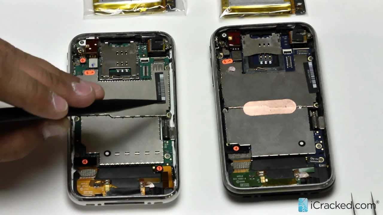 Official iPhone 3G 3GS Battery Replacement Video & Instructions